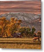 Sierra Sunrise Metal Print