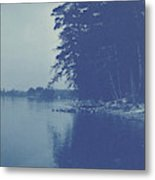 Sight Over A Lake, Anonymous Metal Print