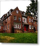 Sigma Phi Epsilon Fraternity On The Wsu Campus Metal Print