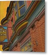 Sign - Frederick Inn Steakhouse And Lounge Metal Print