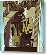 Sign Of The Jackalope Metal Print