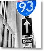 Interstate 93 Metal Print