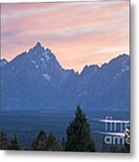 Signal Mountain Grand Teton National Park Metal Print