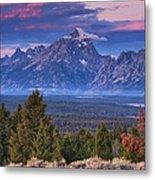 Signal Mountain Sunrise Metal Print