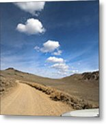 Signals ... Along The Bristlecone Pine Highway, White Mountains, California.  Metal Print