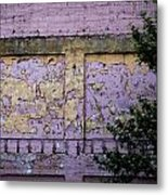 Signs Gone By Metal Print by Christine Burdine