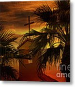 Signs In The Heavens Metal Print by Beverly Guilliams