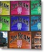 Signs Of Jim Beam Metal Print