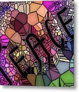 Signs Of Peace V Metal Print