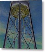 Sikeston Water Tower  II Metal Print