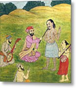 Sikh Painting Metal Print