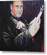 Pencak Silat - Pelatih Johnny Dutrieux Metal Print