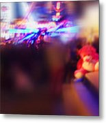 Silence Of The Noise Metal Print
