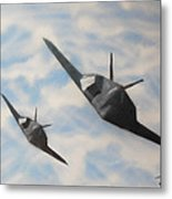 Silent But Deadly Metal Print