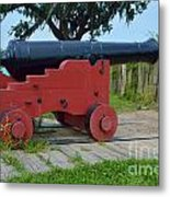 Silent Cannon Metal Print