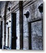 Silent Cannons Metal Print