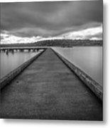 Silent Dock Metal Print