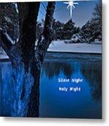 Silent Night Metal Print by Betty LaRue