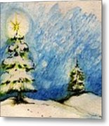 Silent Night Holy Night Metal Print