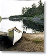 Silent Retreat Metal Print
