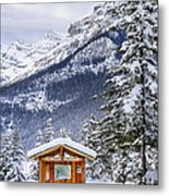 Silent Winter Metal Print