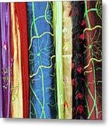 Silk Fabric 01 Metal Print