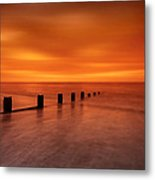 Silky Sunrise Metal Print by Mark Leader