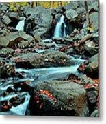 Silky Water 3 Metal Print