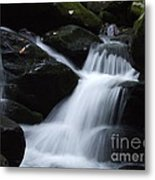 Silky Waterfall Metal Print
