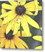 Silly Susans Spider Metal Print