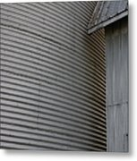 Silo Structure Metal Print