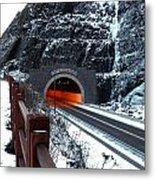 Silver Creek Tunnel Metal Print