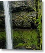 Silver Falls 3 Metal Print