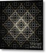 Silver Gate Metal Print