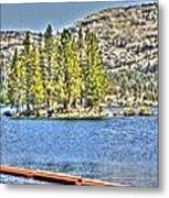 Silver Lake 2 Metal Print