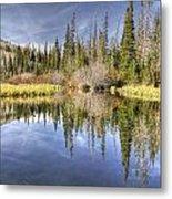 Silver Lake Utah Metal Print