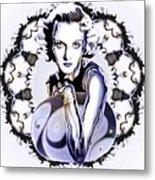 Silverscreenstar Carole Lombard Metal Print