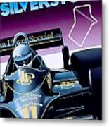 Silverstone Metal Print