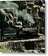 Silverton Steam Locomotive  Metal Print