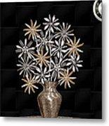 Silverware Bouquet Metal Print