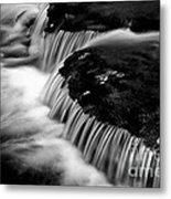 Silvery Falls Metal Print