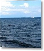 Silvias Ocean View Metal Print