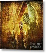 Simon Helps Jesus Via Dolorosa 5 Metal Print by Lianne Schneider