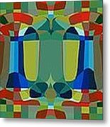 Simple Colors Metal Print