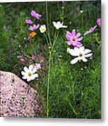 Simple Flowers 11460 Metal Print