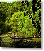 Simpler Times - Central Park - Nyc Metal Print