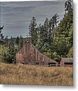 Simpler Times Metal Print by Randy Hall