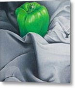 Simply Green Metal Print