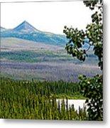 Simpson Peak At Swan Lake-yt Metal Print