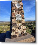 Simpson Springs Pony Express Station Monument - Utah Metal Print
